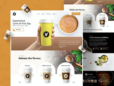 Coffee shop ui ui designs ui  ux uidesign website websites website concept coffee website coffee coffee shop website design web web design ui design webdesign design