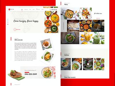 Restaurant Web UI resturant restaurant app hotel restaurants restaurant ui ui designs uidesign website design website web design ui design web design webdesign
