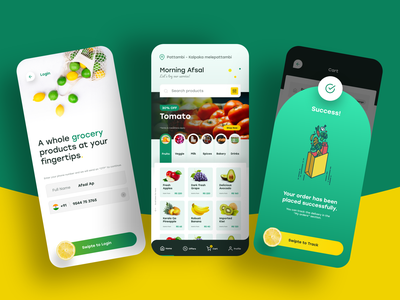 Grocery Shopping App Ui app design grocery store grocery grocery app ui  ux uiux ui designs mobile ui app mobile app uidesign ui design ui design