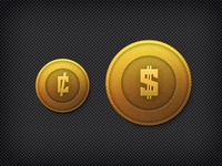 Gold Coin Icons