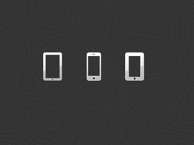 iPhone & iPad icons icon icons ios iphone ipad glyph iconset