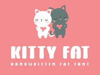 Kitty Fat - Handwritten Font