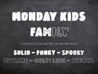 Monday Kids - Font
