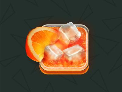 Spritz app icon ui alcolic icon app drink spritz