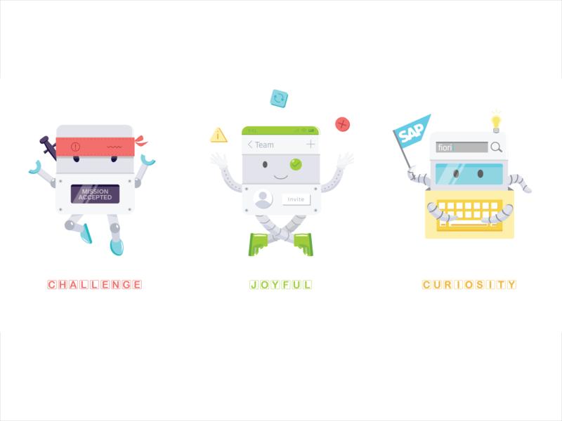 Component Monsters design system illustration branding
