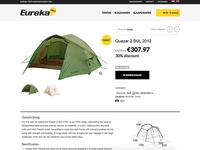 Eureka! Outlet Europe Product Page