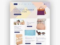 Sanoma eCommerce Web Design
