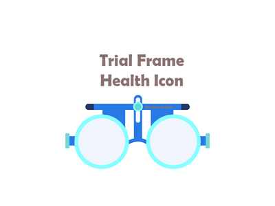 trial frame Health Icon trial frame icon trial frame health icon health icon