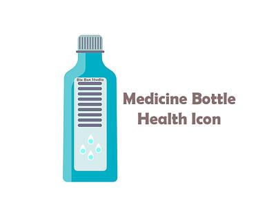 blue medicine Bottle Health Icon medicine bottle icon medicine bottle health icon health icon