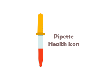 pipette health icon pipette health icon health icon