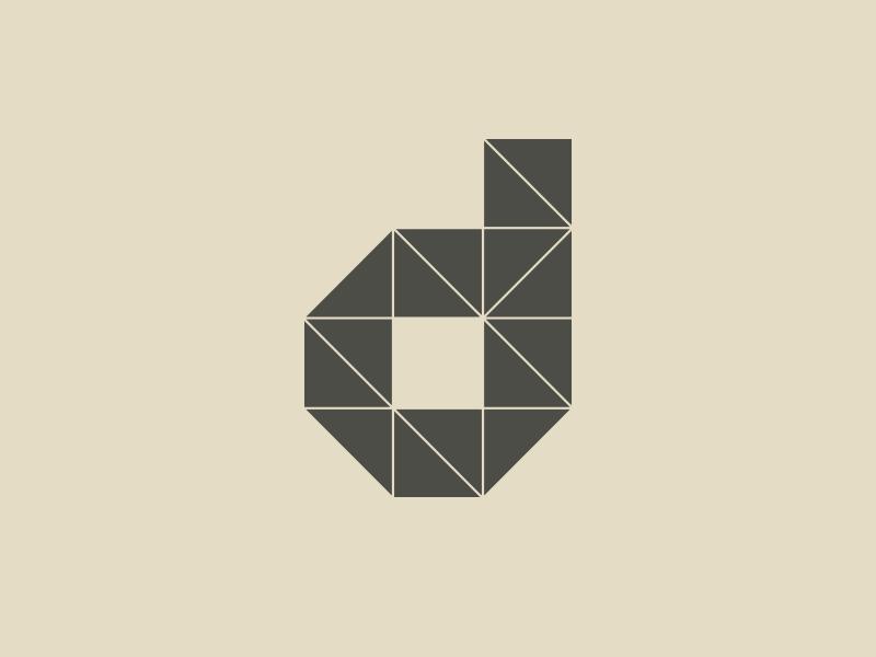Typehue D/d typography typehue type d letter duotone design challenge challenge