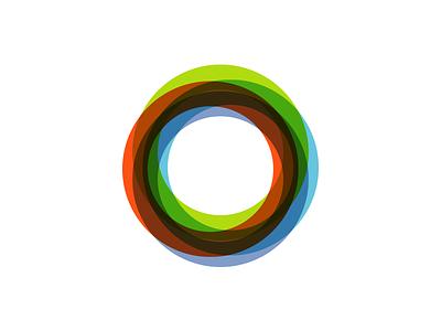Circles identity mark overprint colors circles