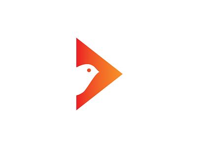 SpArrow arrow sparrow symbol mark logo identity icon form