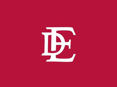 ED Monogram icon letter monogram ed symbol typography