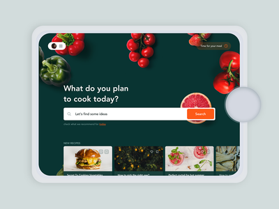 Thermomix app concept interface design ux ui tool app thermomix