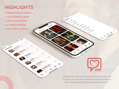 Best Dating app UI/UX Design uiux ui trends designers design app dating mobile app design dating app ux app design ux design ui design branding graphic design ui