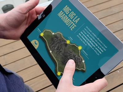 Bike iPad Magazine ui ux ipad magazine app bike rikke gantzel simple clean
