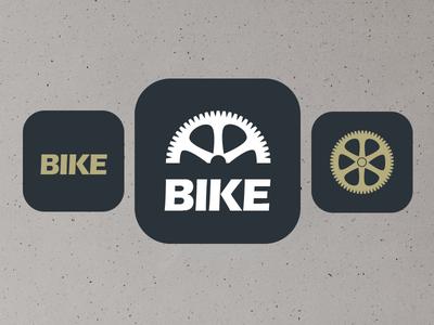 Bike Magazine Icon bike app icon flat clean logo magazine rikkegantzel