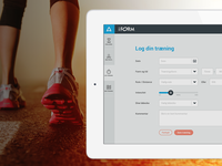 iForm Challenge - Log your workouts