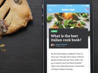 Discuss - Discussions App