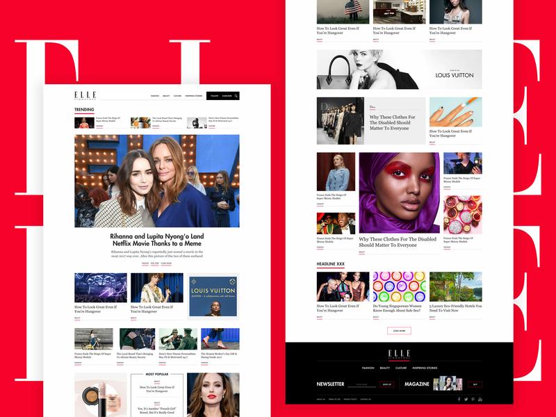 Elle Singapore responsive lifestyle trend wellness beauty fashion red news editoral magazine sinpagore elle