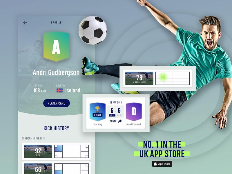 myKicks tech clean app soccer football