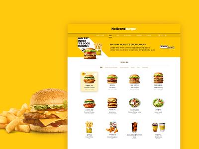 Burger Menu Web clean interface daily ui ux ui design uxui ui design website design web website burger menu burgers burger