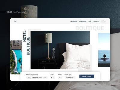 Hotel Reservation Web inspirations webdesign reservation hotel app inspiration figma interface app design app design ui design uxui ui ux hotel reservation website design websites web