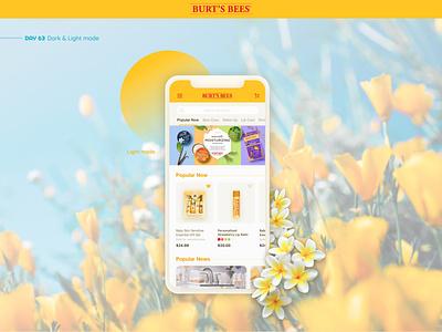 Light Mode mobile app design figma cosmetic mobile app mobile ux daily ui interface app design ui design app design ui uxui light light mode
