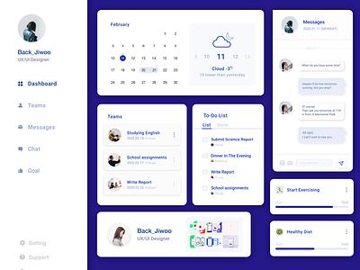 New Status figma message web interface daily ui ux uxui ui ui design design mobile app mobile app app design dashboard ui dashboard