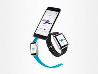 Nike Free Flyknit - Apple watch, Mobile
