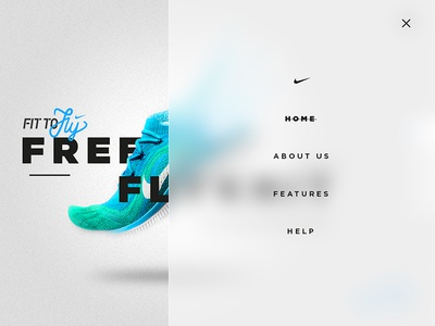 Nike Fly Flyknit - Menu
