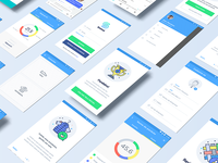Smind - Design app  screens