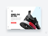 Adidas ecommerce concept