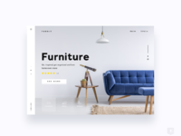 Web design furniture company daily ui challenge 3 365