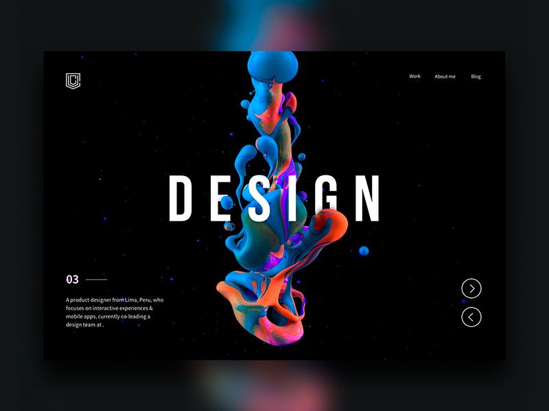 Landing page - Daily UI Challenge 4/365 ux ui ui design ux design user experience user interface web design clean landing page minimalist ios ixda