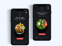 Food menu app delivery   daily ui challenge 9 365