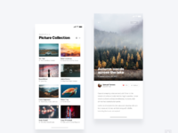 Social photo app    daily ui challenge 12 365