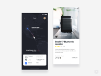 Delivery express app    daily ui challenge 14 365