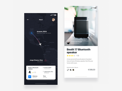 Delivery express app  - Daily UI Challenge 14/365 ux ui ui design ux design user experience user interface interaction design bitcoin web design delivery app amazon ixda