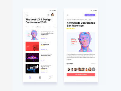 Event discovery app  - Daily UI Challenge 15/365 iphone x discovery app event ixda web design interaction design user interface user experience ux design ui design ui ux