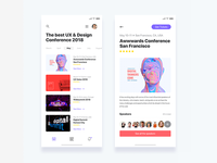 Event discovery app  - Daily UI Challenge 15/365