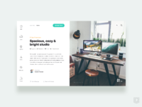 Reserve studio design in house   daily ui challenge 20 365