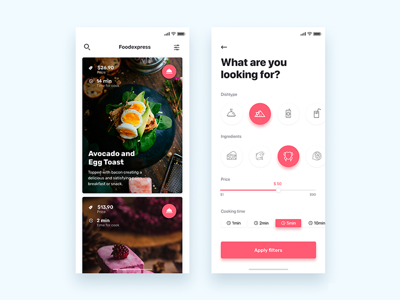 Menu online with reservation  - Daily UI Challenge 24/365