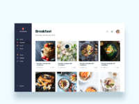 Foodtrade  personalized food recipes online    daily ui challenge 27 365