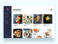 Foodtrade, food recipes online  - Daily UI Challenge 27/365