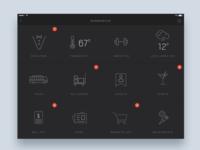 Room service hotel app  - Daily UI Challenge 28/365