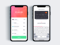 Service payment frequently   - Daily UI Challenge 29/365