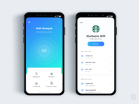 Wifi discovery app    daily ui challenge 35 365