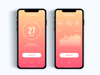 Pregnancy assistant app - Daily UI Challenge 36/365